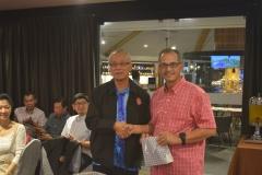 Farewell Golf Session for Former DG