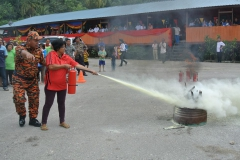 Fire Safety Campaign At Kg Kangka Longhouse, Kuching