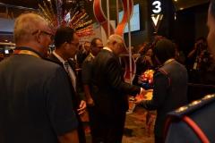 Former Minister visits